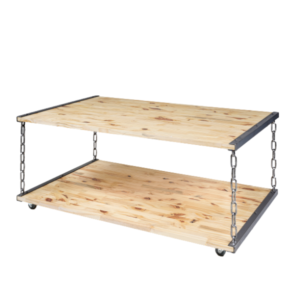 TABLE BASSE SUSPENDUE INDUSTRIELLE TB-01