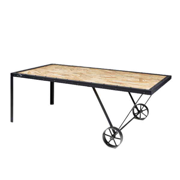TABLE BASSE CAMPAGNARDE INDUSTRIELLE TB-05